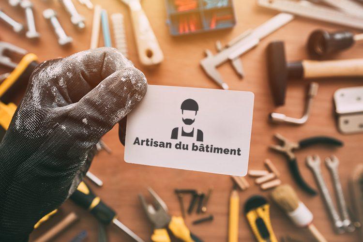 Faire des cartes de visite pour un artisan