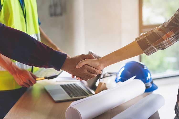 formalités embauche salarié bâtiment