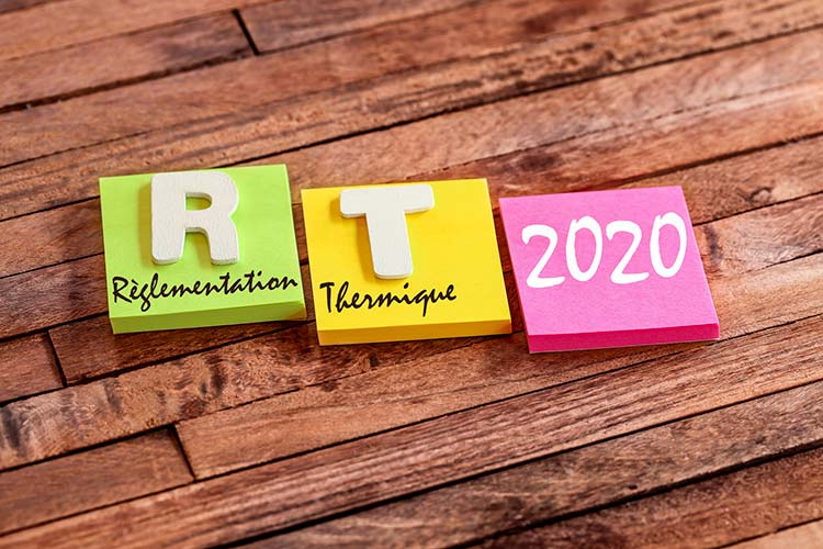 Mise en application de la RT 2020