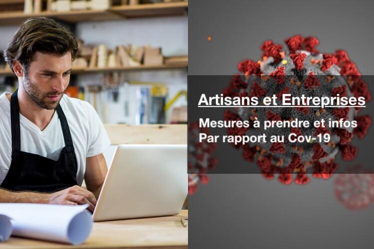 Coronavirus et artisan : quel impact sur votre activité ?